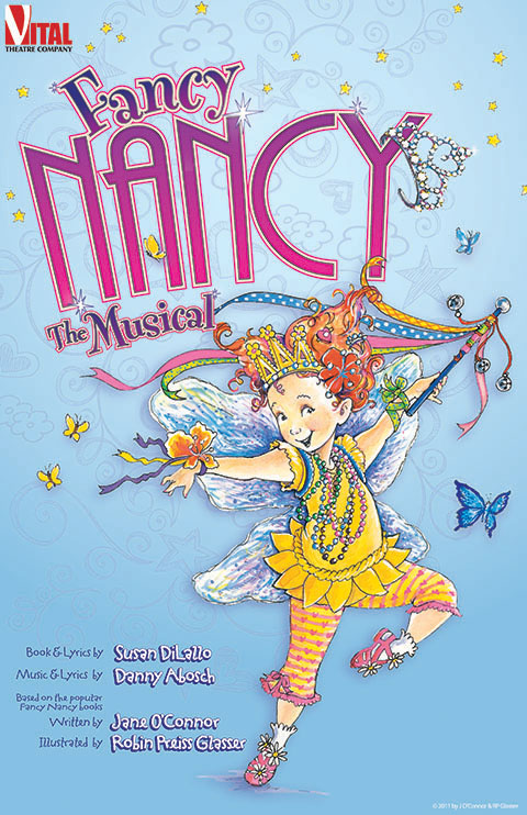 Fancy Nancy now playing at Hamilton Stage.