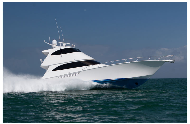 The Miami Yacht And Brokerage Show 66 EB Combines Superlative Performance Sea Keeping Prowess With Impeccable Design Luxurious Appointments
