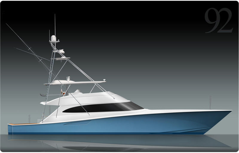 In Response To The Success Of Viking 82 Convertible A 92 Will Premiere At 2014 Miami Boat Show
