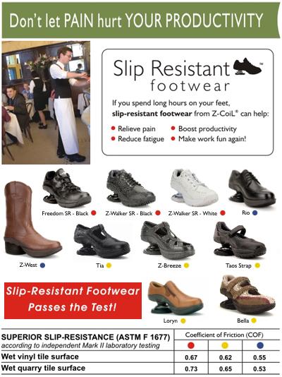 Slip-Resistant Footwear