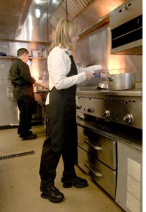 Chefs wearing our new Freedom SR and Z-Walker SR footwear