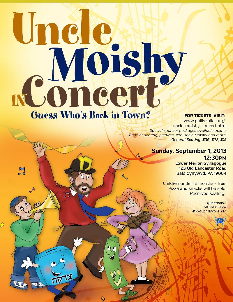 uncle moishy concert.