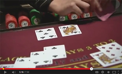 how to deal blackjack - youtube