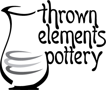 thrown elements pottery logo