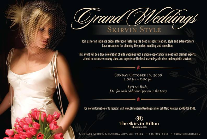 Skirvin Grand Weddings