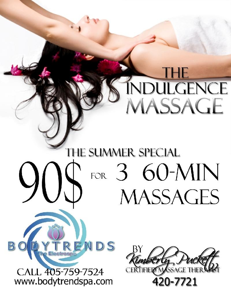 Summer Masage Special at BodyTrends OKC