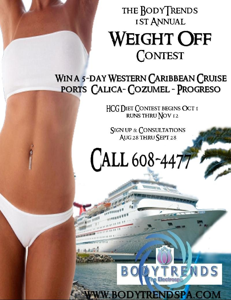 The BodyTrends hCG Diet Contest, Win a Cruise to Cozumel