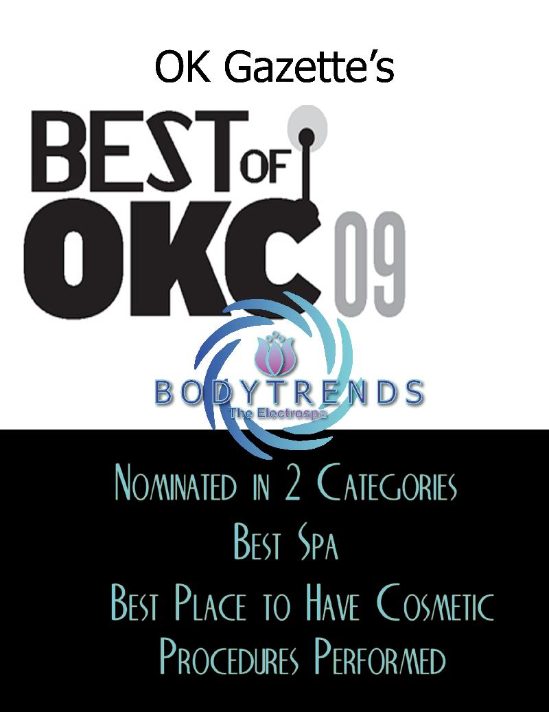 Gazette Best Spa in OKC Nomination