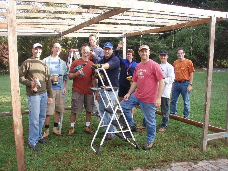 Sukkah Build 2009