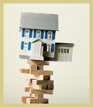 House on unstable blocks