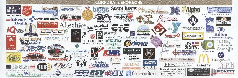 2012 Prayer Breakfast sponsors