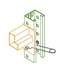 Installing Pinch Pin Locks