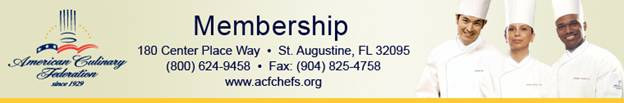 ACF Membership Logo