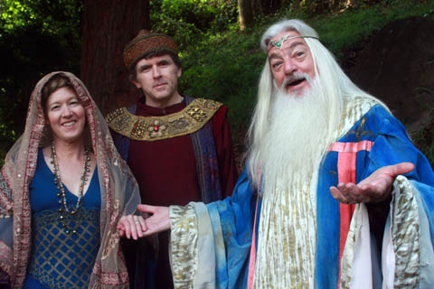 2011 Merlin and Courtiers
