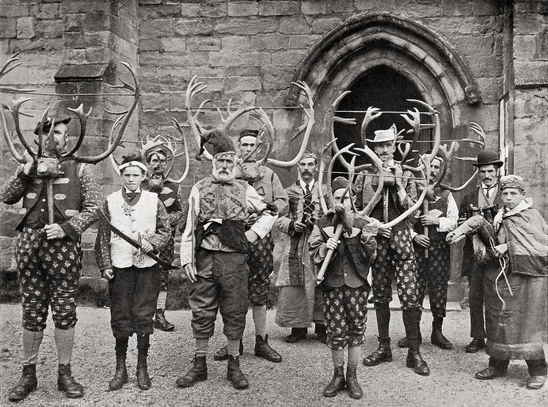 Abbots Bromley 1906