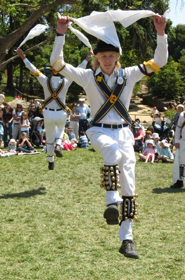 Morris Dancer May Day 2007