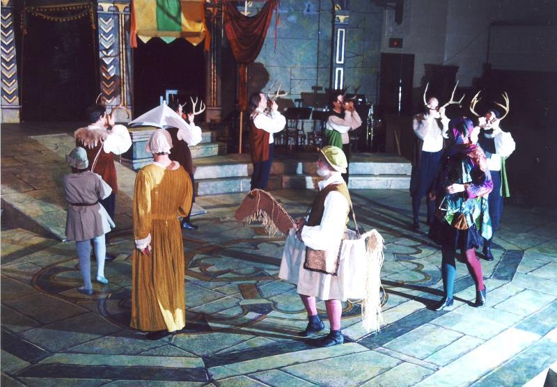 Abbots Bromley horn dance 2000