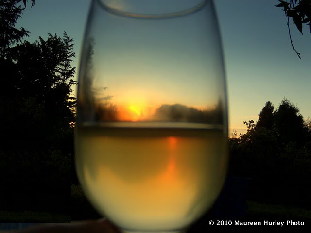 Solstice in a wine glass