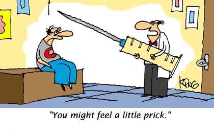 Needle Cartoon