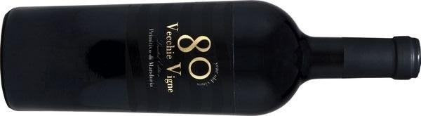 Kết quả hình ảnh cho 80 vecchie vigne primitivo di manduria