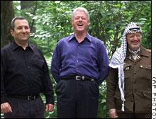 Barak-Clinton-Arafat