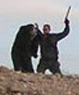 Israeli policeman beating Bedouin Israeli-Al-Arakib