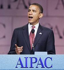 Obama speaks at annual AIPAC conference