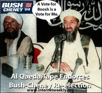 Al Qaeda Endorsed Bush on Iraq
