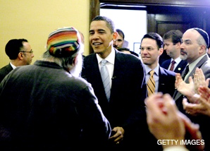 Obama meets with Philly Jewish leaders
