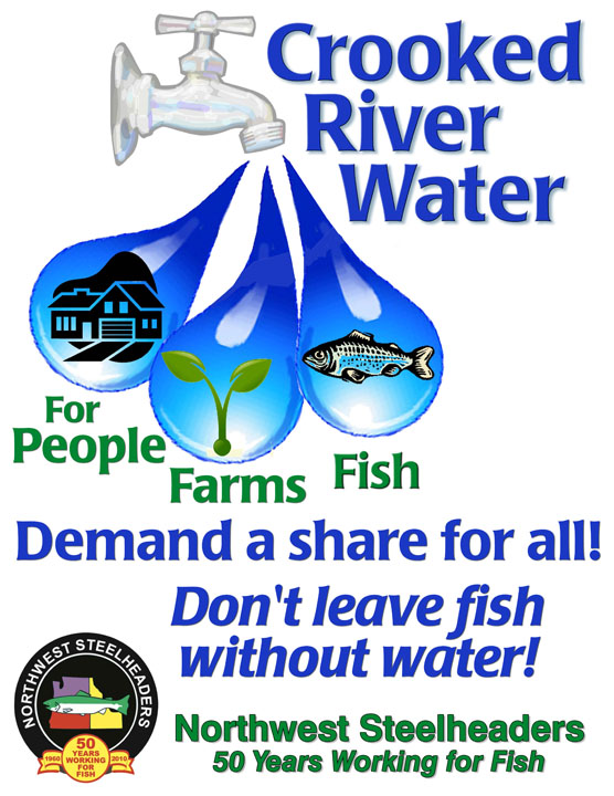 Poster on Importance of Rivers Crooked River Water Poster