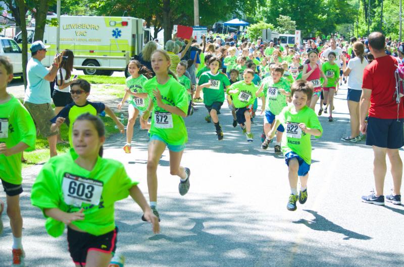 mile run 2014