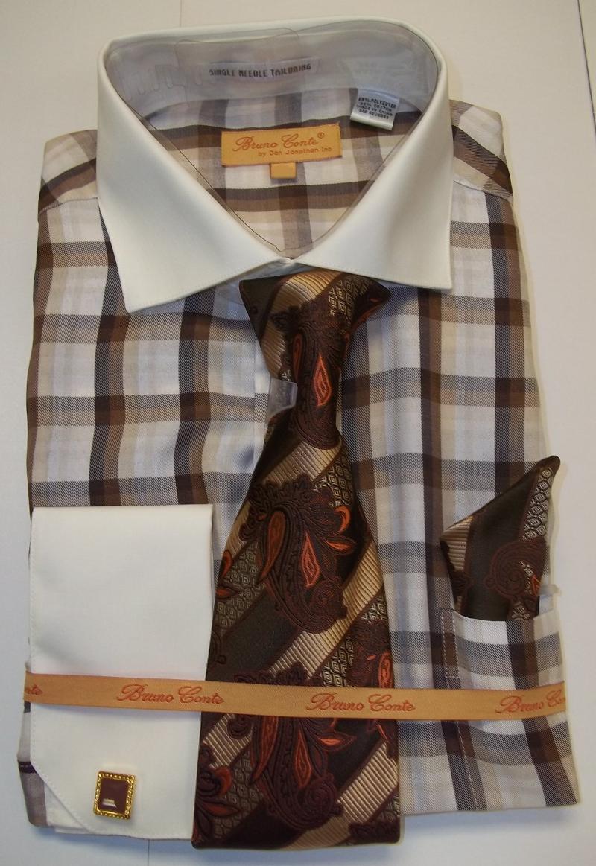 Bergan Brothers Fall 2013 Suits Walking Set Shirt Tie Set Shoes