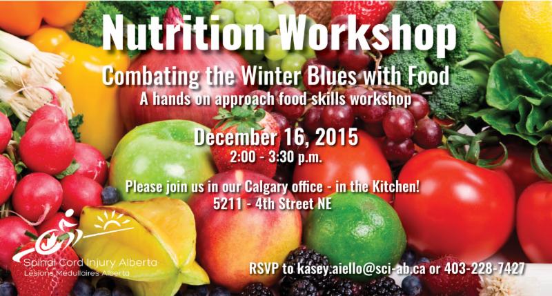 Nutrition Workshop Invitation on December 16_ 2015