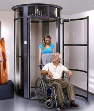 Picture of Wheelchair accessible vacuum elevator