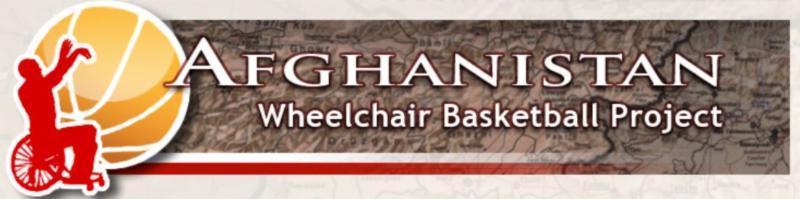 Afghanistan Wheelchair Basketball Project Header