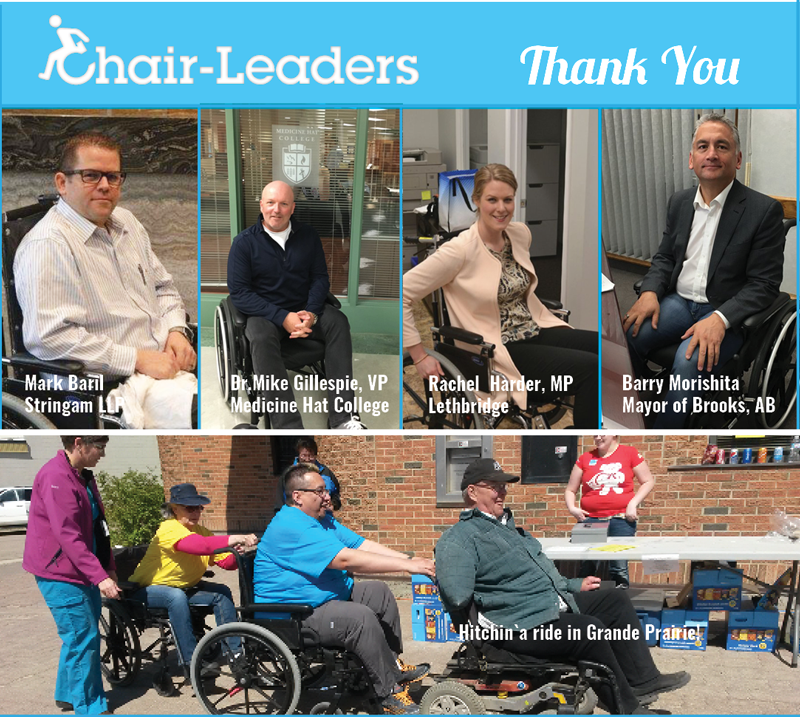 Chair-Leaders Thank You