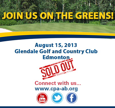 Golf Tournament Edmonton Sold Out