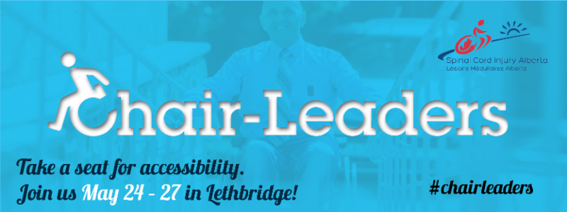 Chair-Leaders event in Lethbridge taking place May 24 - 27_ 2016
