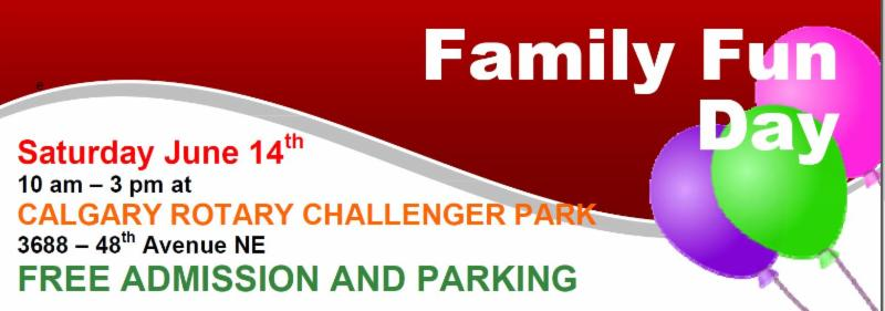 Family Fun Day coming up on June 14th