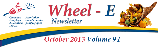 Newsletter Banner for October 2013