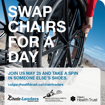 Chair-Leaders 2015 Calgary - Join us on May 25th