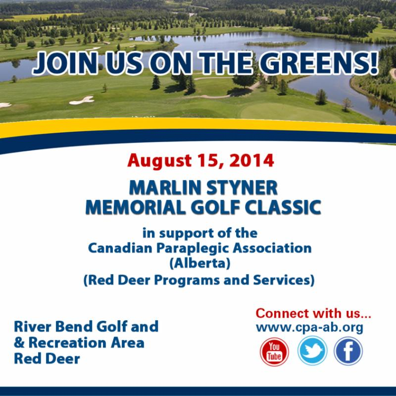Marlin Styner Memorial Golf Classic Invitation