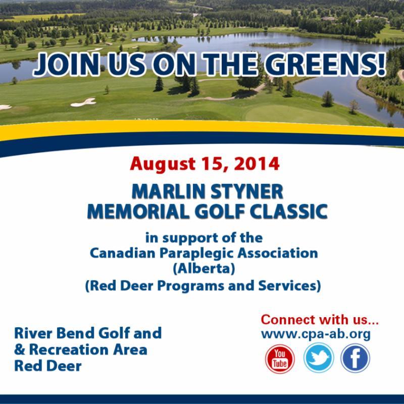 Marlin Styner Memorial Golf Classic Invitation