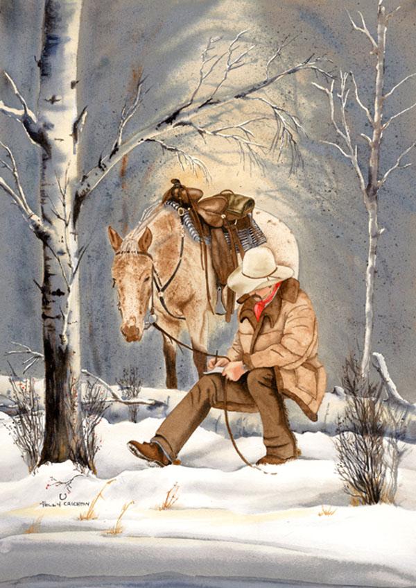Holly Crichton Cowboy Print