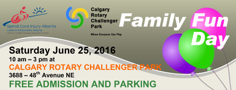 Family Fun Day at Calgary Rotary Challenger Park on Saturday_ June 25_ 2016