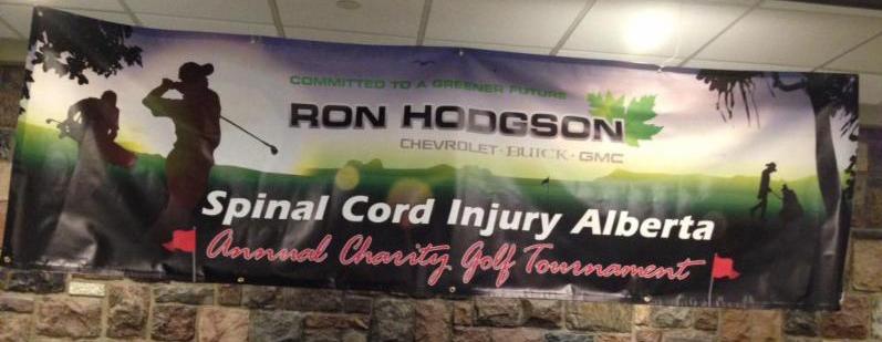 Edmonton Golf Tournament Banner