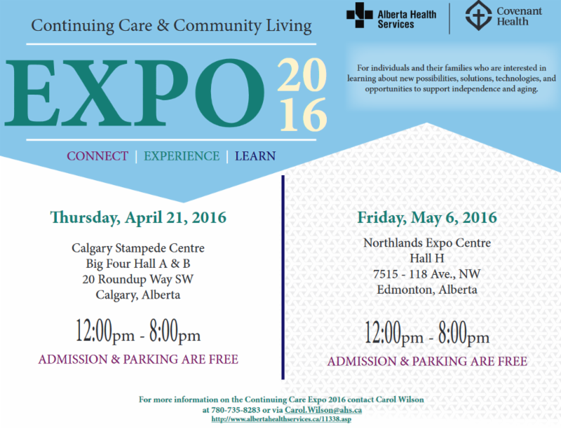 Continuing Care _ Community Living Expo 2016