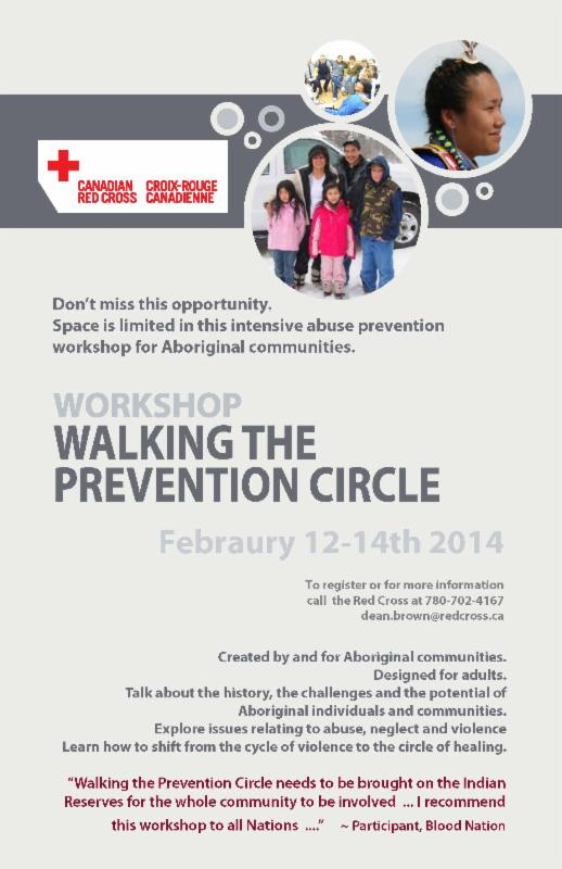 Walkint the Prevention Circle Poster