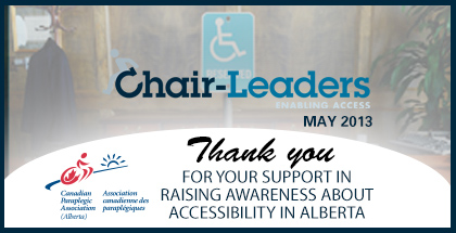 Chair-Leaders - Thank You