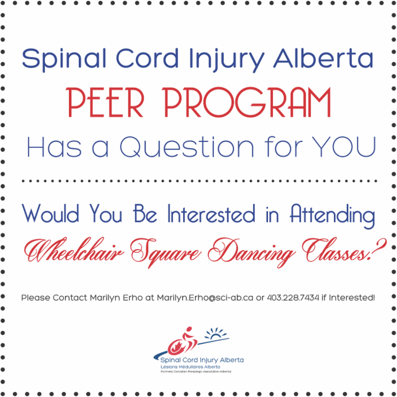 Would you be interested in attending Wheelchair Square Dancing classes?